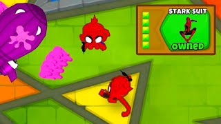 The SPIDERMAN Tower Is OVERPOWERED in Bloons TD6