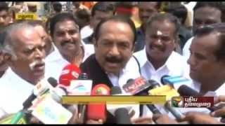 Glad about Karunanidhi's statement,  welcoming an alliance with MDMK,  says Vaiko