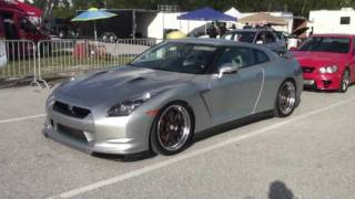 Nissan GTR Vs. Subaru WRX Drag Race Video - Road Test TV