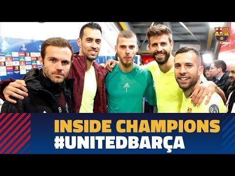 MANCHESTER UNITED 0-1 BARÇA | Inside Champions видео