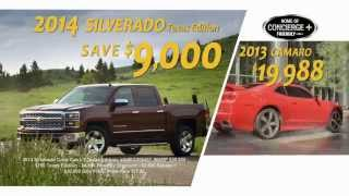 Friendly Chevrolet - April 2014 Incentives
