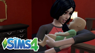 GIVING BIRTH! MEET MY BABY! | The Sims 4 Lets Play! Ep.16 | Amy Lee33