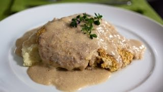 Chef Laura Vitale And Chef Jet Tila Make Country Fried Steak I Recipe Rehab I Everyday Health