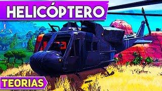Teorías: Helicóptero Misterioso | Fortnite Temporada 8
