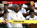 BJP is not saving democracy by pushing people towards inequality, says Mallikarjun Kharge - Video