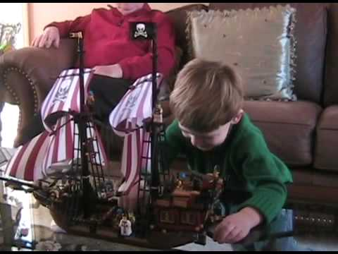 Pirate Ship Christmas Surprise