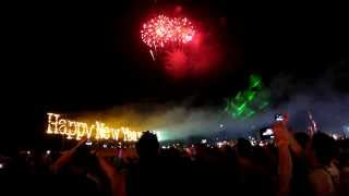 Koh Phangan New Year Countdown 2014-Haad Rin Countdown Party