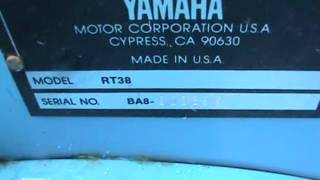 4. Yamaha Terrapro RT38 RT 38 Roto Tiller Roto-Tiller For Four Wheeler For Sale