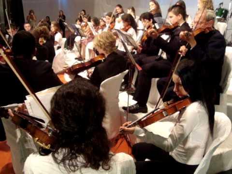 Orquestra Esc. Munic. de fpolis_6ª Noite Cultural em Brunópolis/SC_24/03/12