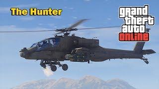 THE NEXT GTA 5 DLC LEAK - NEW VEHICLE HUNTER HELICOPTER CONFIR...