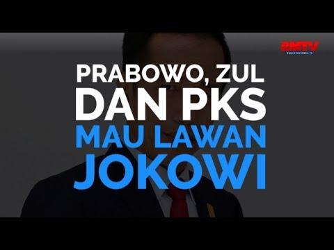 Prabowo, Zul dan PKS Mau Lawan Jokowi