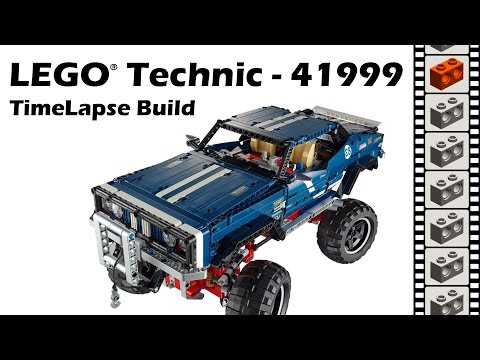 lego technic 41999 pas cher 4x4 crawler exclusive edition. Black Bedroom Furniture Sets. Home Design Ideas