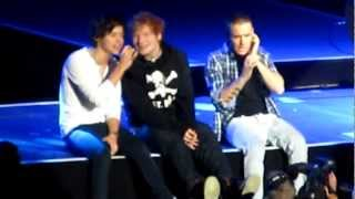 One Direction Feat. Ed Sheeran - Little Things MSG 12/3/12