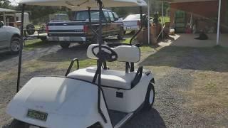 5. 2002 EZGO TXT Gas Golf Cart $2000.00