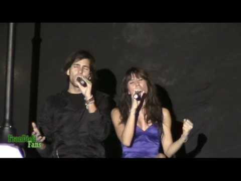Fran Dieli, canta con Sandra Polop- Unidos por el exito- Carcaixent (Valencia)