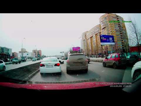 Авария в Екатеринбурге на улице Токарей