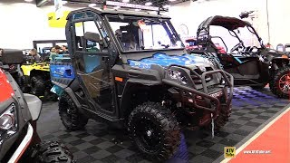 5. 2019 CfMoto U-Force 800 Accessorized Utility ATV - Walkaround - 2018 Drummondville ATV Show