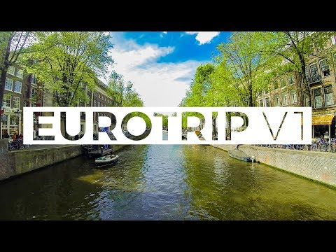 GoPro Eurotrip: Amsterdam, Barcelona and 40,000 Ft.