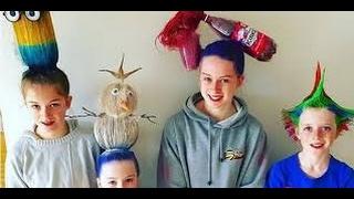 Думаете, это детвора к Хэллоуину готовится? Вовсе нет. Это Crazy Hair Day — Безумный День Волос в  американских школ. Такие веселые и немножко безумные праздники там устраивают, чтобы дети и родители сильнее сдружились между собой и проявить творческую жилку. Ну и, чтобы повеселиться от души, обязательно.День сумасшедших волос (Crazy Hair Day) — красочное мероприятие в школах и других учреждениях, которое позволяет детям и их родителям проявить фантазию, разбавить рутину учебной жизни. В такие дни дети приходят в школу с самыми невероятными прическами: их волосы превращаются в радугу, пончик или даже в снеговика. Только взгляните на самые запоминающиеся прически с этого праздника.**************************************Подписаться на канал.https://goo.gl/i4h09U**************************************Идеи. Много идей. Идеи на все случаи. Бывает, что хочешь чего то, а... не знаешь как. Заходите к нам, тут много идей для творчества, для интерьера, для оформления и даже тенденции моды.