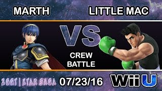 Marth vs Lil Mac Crew Battle feat Mr. E, Pugwest, False, Mr. R, Sol, Alphicans, Vash and more!