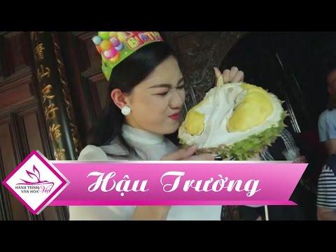 Quà sinh nhật bá đạo của ekip Hành Trình Văn Hóa Việt dành cho Á hậu Thanh Tú