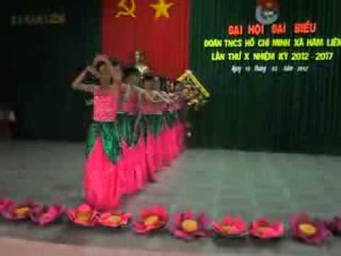 múa: Thăm bến Nhà rồng trường THCS Hàm Liêm