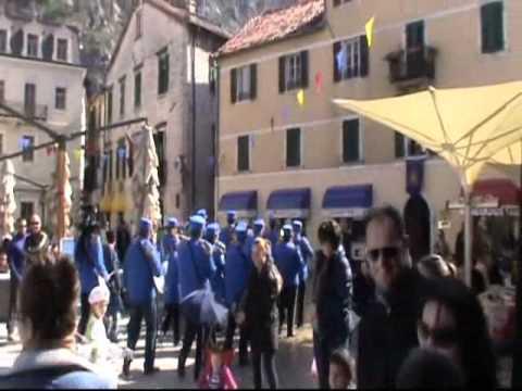 Skala radio - abrum ulicama starog grada Kotora - mart 2012.