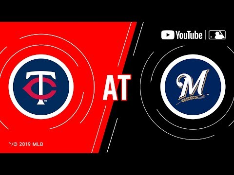 Video: Twins at Brewers | MLB Game of the Week Live on YouTube