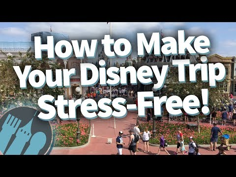 How to Make Your Disney Trip Stress-Free!