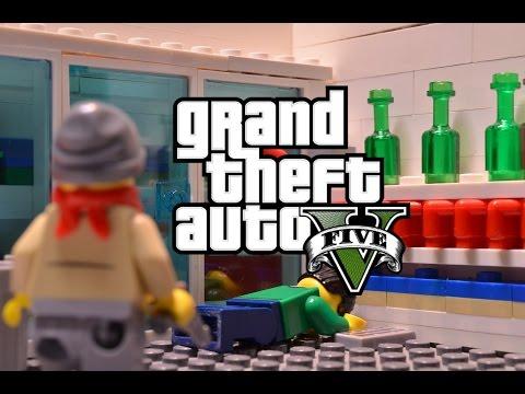 lego gta 5 - Lego City Dessin Anim