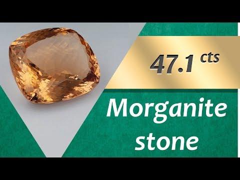 Morganite Stone. 47.1 Carat Natural Stone of Morganite