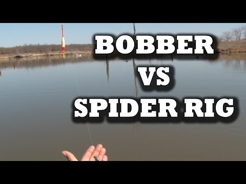 Crappie Fishing – Spider Rig VS Bobber