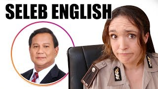 Video Prabowo, Prilly Latuconsina, Cania Citta - Seleb English MP3, 3GP, MP4, WEBM, AVI, FLV Januari 2019