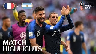 Video France v Argentina - 2018 FIFA World Cup Russia™ - Match 50 MP3, 3GP, MP4, WEBM, AVI, FLV September 2018