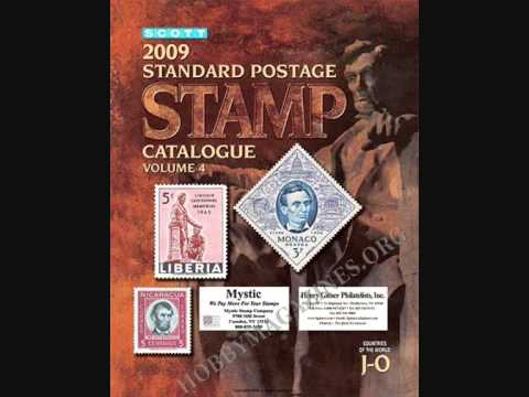 Scott Catalogue - http://www.giddz.com/scottstamps2009.html.