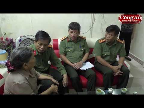 Giám đốc Công an TP Đà Nẵng thăm và việc tại H. Tiên Lãng (Hải Phòng)
