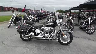 9. 038459 - 2003 Harley Davidson Heritage Softail Classic FLSTCi - Used Motorcycle For Sale