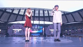 Video 170708 찬열 X 웬디 Chanyeol & Wendy _ Stay With Me (도깨비 ost) _ SM TOWN LIVE Concert MP3, 3GP, MP4, WEBM, AVI, FLV Juni 2018