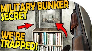 MILITARY BUNKER BASE SECRET! - WE'RE TRAPPED?! - 7 Days to Die Alpha 16 Gameplay Part 19 (Season 2)