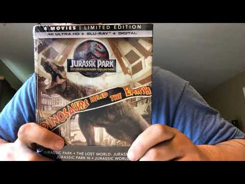Jurassic Park Collection 4K Ultra HD Blu-Ray Unboxing
