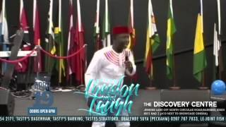 Seyi Law -  ''naija Vs Oyinbo Mad Man'' - London Must Laugh With Seyilaw Easter Saturday 19th April