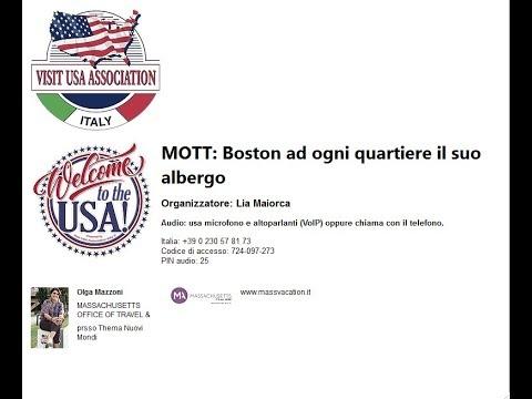 Video MOTT: Boston ad ogni quartiere il suo albergo (17-10-2019)