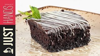 Chocolate syrup pie with a chocolate glaze  | Akis Kitchen by Akis Kitchen