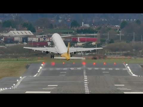 A Compilation Of Terrifying Airplane Takeoffs In