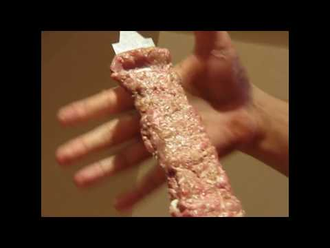 کباب کوبیده بند زدن قیچی