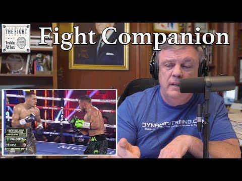 Teddy Atlas watches VASILIY LOMACHENKO vs TEOFIMO LOPEZ   The Fight Companion