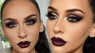 SMOKED PURPLE GRUNGE GLAM | Carli Bybel by Carli Bybel