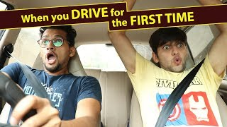 Video When you drive for the first time | Funcho Entertainment | FC MP3, 3GP, MP4, WEBM, AVI, FLV Agustus 2018