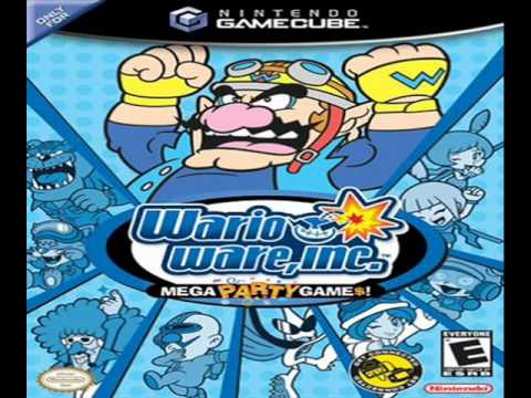 Wario Ware, Inc.: Mega Party Game$ OST - 33 - Multiplayer Paper Plane Race