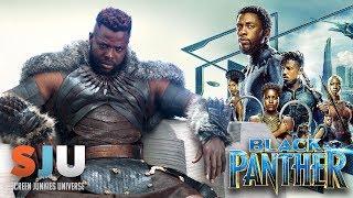 Video Black Panther Star Answers Questions! - SJU MP3, 3GP, MP4, WEBM, AVI, FLV Mei 2018